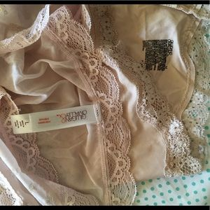 Two Pairs Gilligan & O'mally Lace Underwear